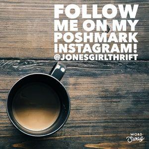 Follow my Poshmark Instagram!